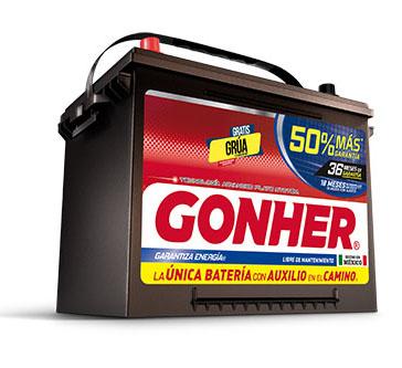 Bateria Gonher