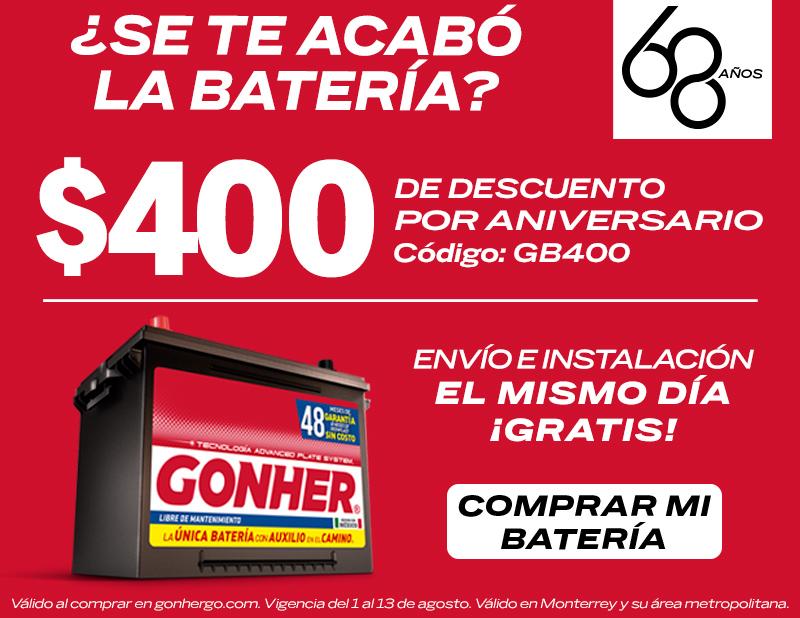 venta de baterías para carro